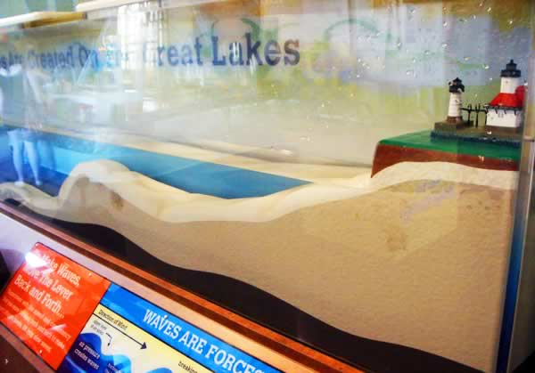 Wave Table: Exhibit at the Curious Kids' Museum & Discovery Zone