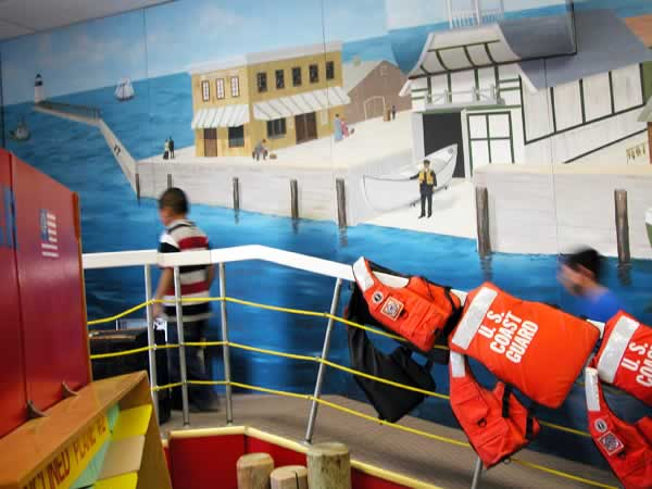 S.S. Cruizer: Coast Guard Exhibit at the Curious Kids' Museum & Discovery Zone