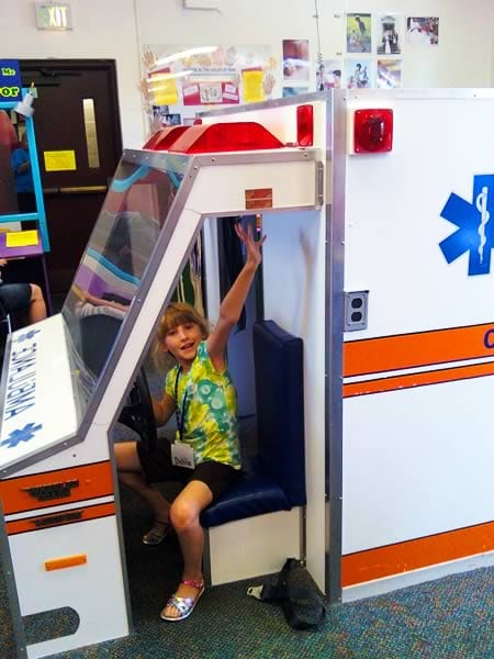 Emergency Vehicles: Exhibit at the Curious Kids' Museum & Discovery Zone